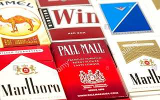 Топ-11 самых популярных марок сигарет